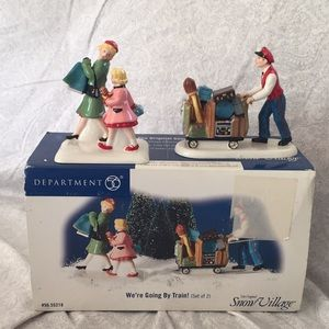 RARE  UNIQUE 2 set piece from DEPARTMENT 56